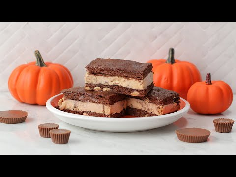 Breyers® REESE'S Brownie Sandwiches // Presented By Breyers®
