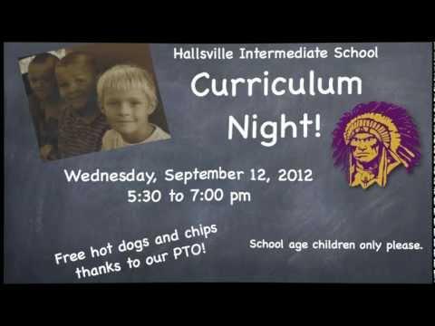 Hallsville Intermediate School Parent Curriculum Night