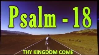 Psalms StudyWeek 20 Psalm 18 The Victory Psalm