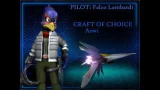 Star Fox: Event Horizon - Playable Characters