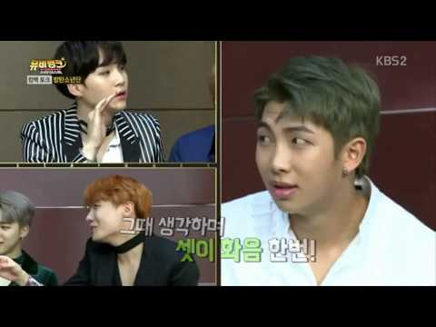 Rapper Line (Suga, Rap Monster, J-Hope) Sing Compilation Funny Part 1