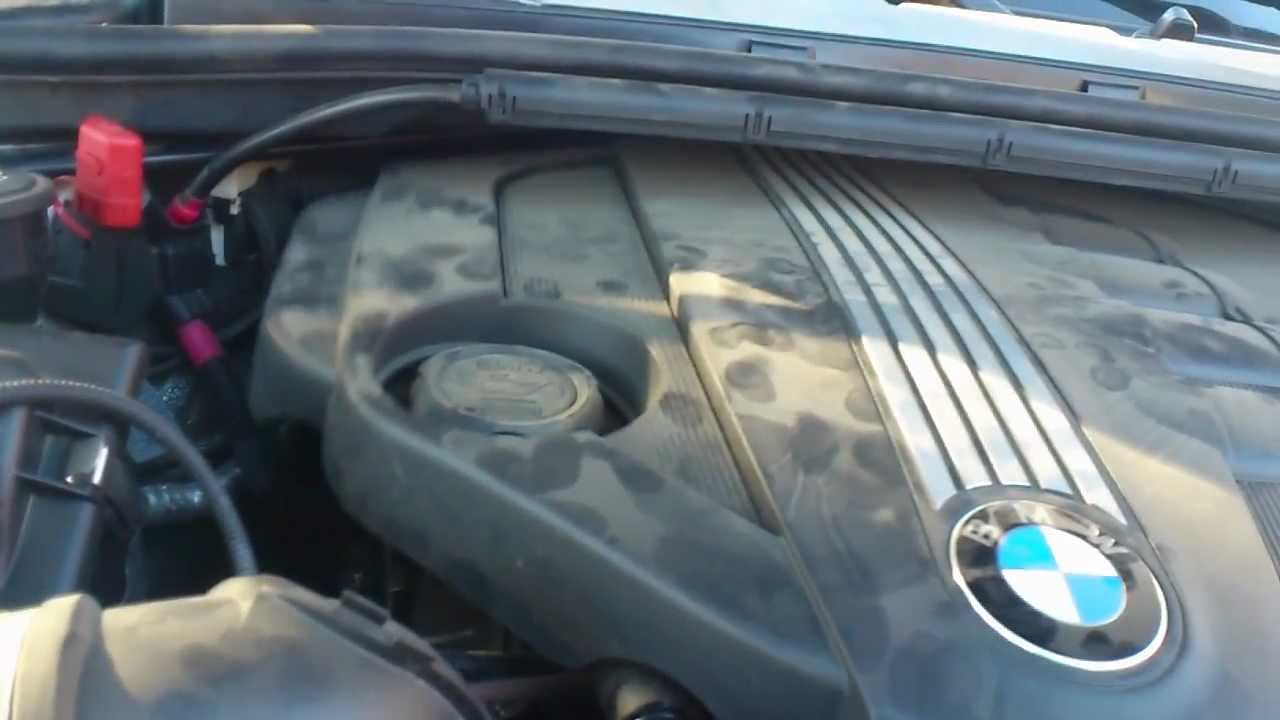 bmw  engine noise vibration   youtube