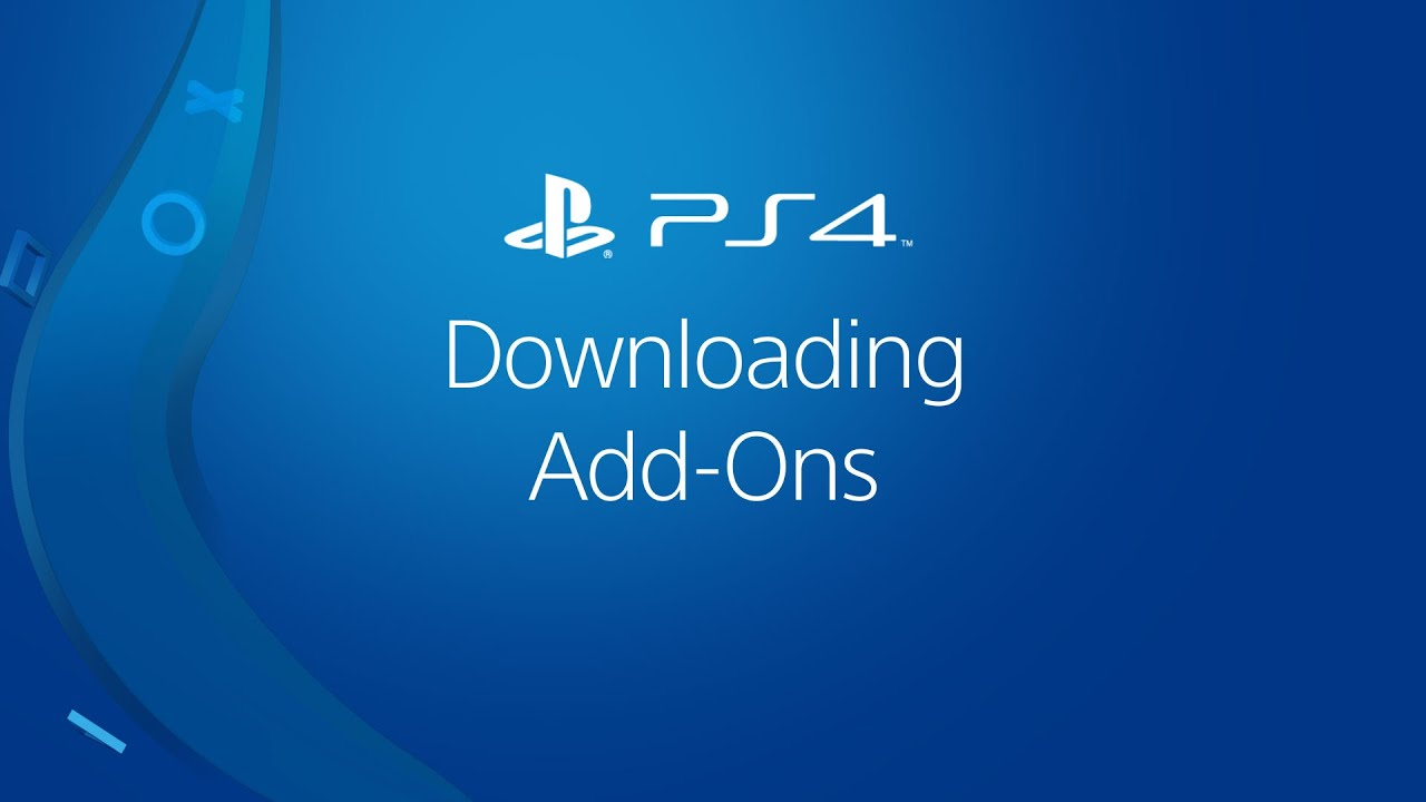 How to download PS4 game Add-Ons