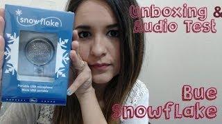 Unboxing & Review del micrófono Blue Snowflake - Español