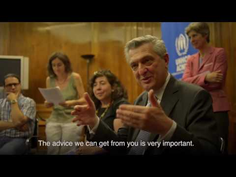High Commissioner for Refugees Filippo Grandi - Official visit to Spain