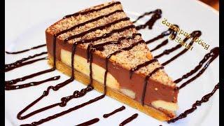 Торт без выпечки за 15 минут. Простой рецепт шоколадно-бананового чуда