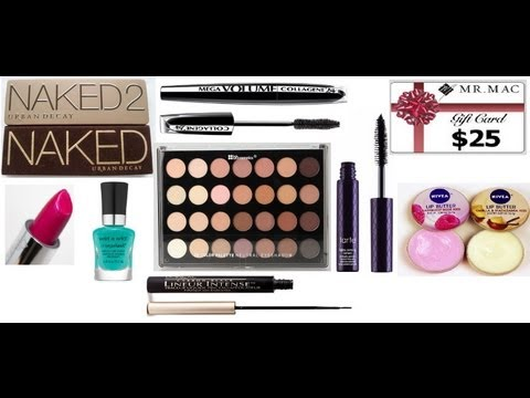 OPEN! Huge Makeup Giveaway!!! URBAN DECAY NAKED PALETTE 1&2, August 2013