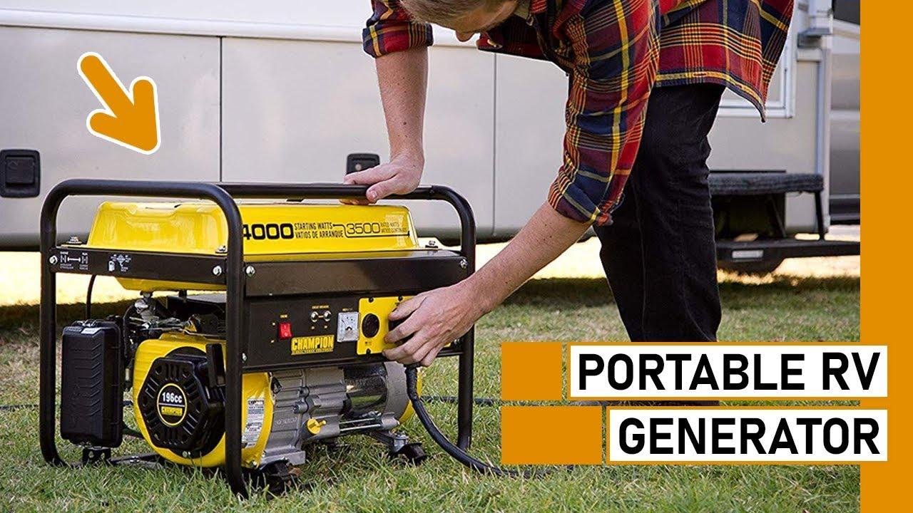 Top 10 Best Portable Generators for RV
