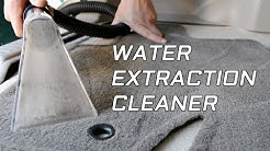 How To Use a Hot Water Extraction Carpet Cleaner On a Car Interior