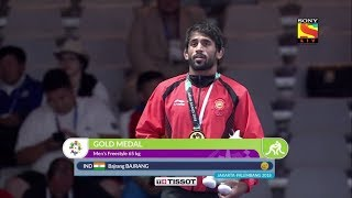 bajrang punia wins gold in asian games 2018