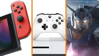 Nintendo Switch Hardware Defect + Xbox One Speeds Up Game Launches + Live Action Gundam Movie