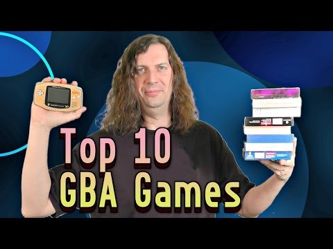 Top 10 GBA / Gameboy Advance Games