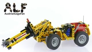 Lego Technic 42049 Mine Cutting Machine - Lego Speed Build Review