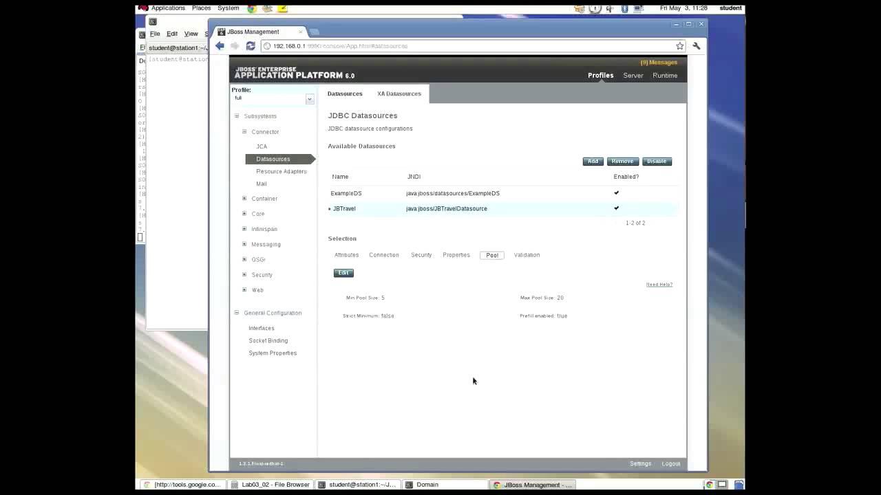JBoss EAP - 19 Datasource Overview