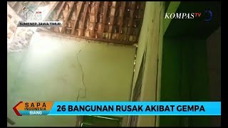 Download Video Gempa Landa Kabupaten Sumenep, 26 Bangunan Rusak MP3 3GP MP4