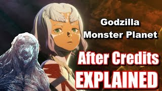 Godzilla Planet Of The Monsters Post Credits Scene Explained