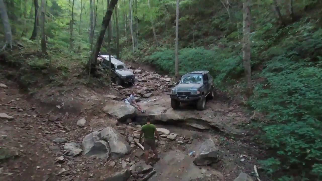 Aerial Of Your Turn Trail @ Black Mountain Offroad Park