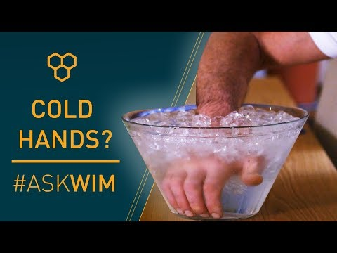 """""""How to avoid cold hands?"""" 
