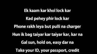 Desi Kalakaar LYRICS   Yo Yo Honey Singh   Sonakshi Singh