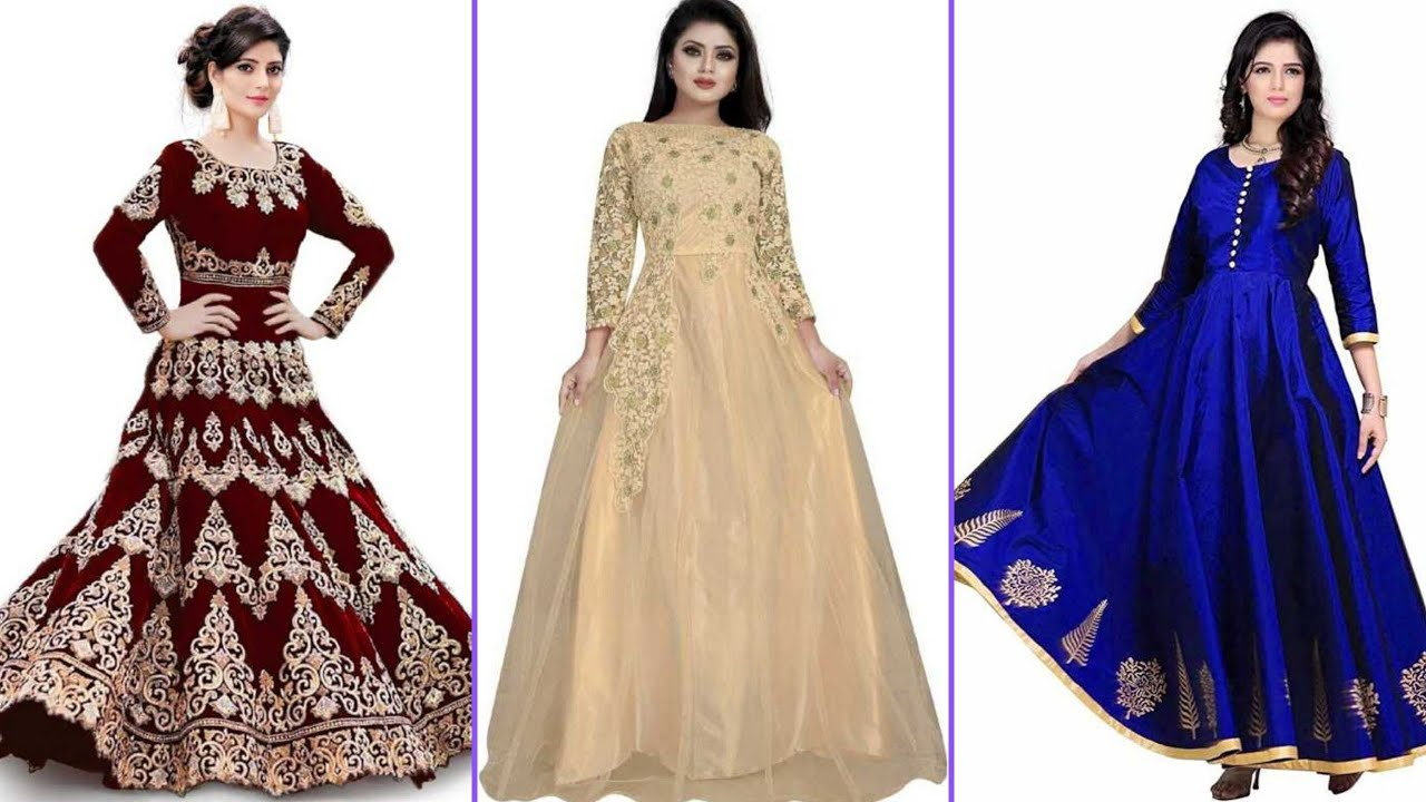 Maxi dresses ideas of girls || 2020-21 long dresses ideas