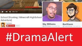 School Shooting Minecraft Debate #DramaAlert Sky Williams vs BurtGasm - Skydoesminecraft