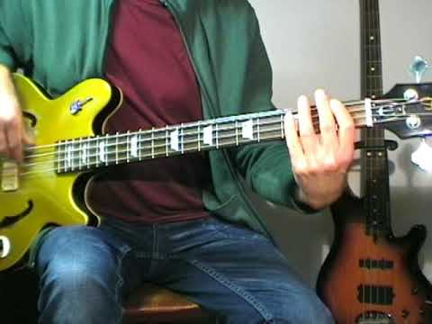Elvis Presley - You're The Devil In Disguise - Bass Cover