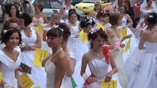 Парад невест.  СЕВЕРОДВИНСК 2010.