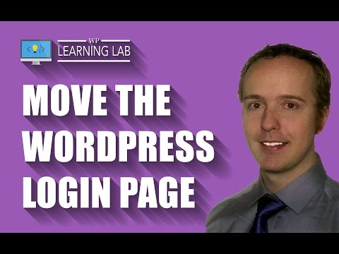 How To Move WordPress Login Page For WordPress Security & Hack Prevention | WP Learning Lab