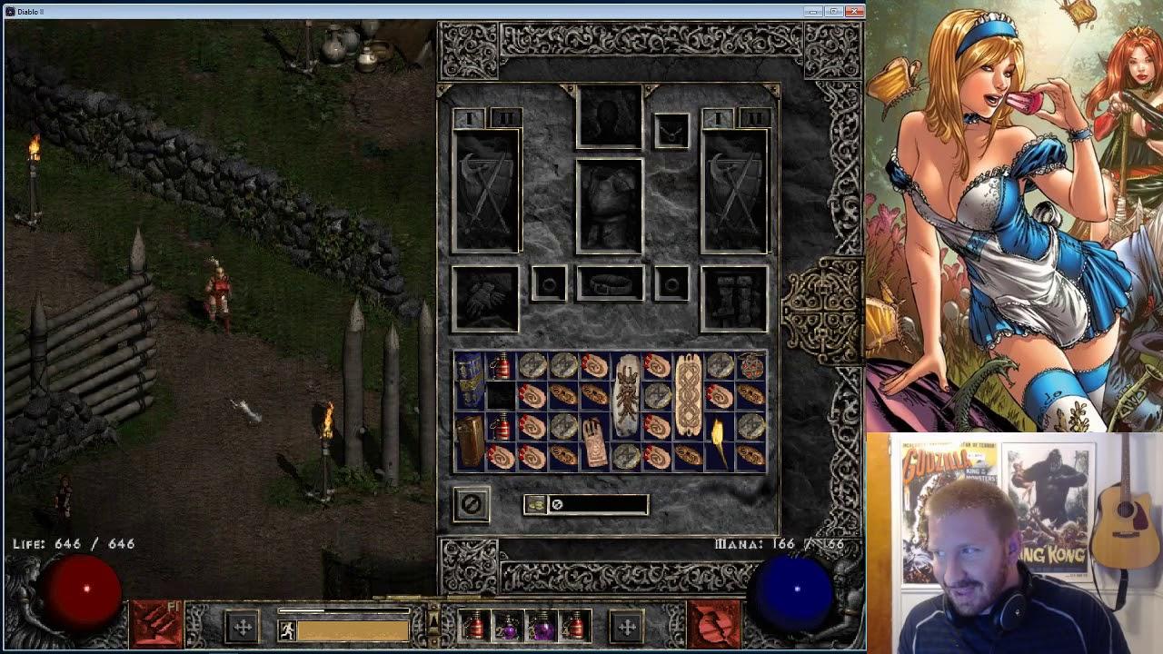 Dueling in Diablo 2 - GETTING PWNED #1