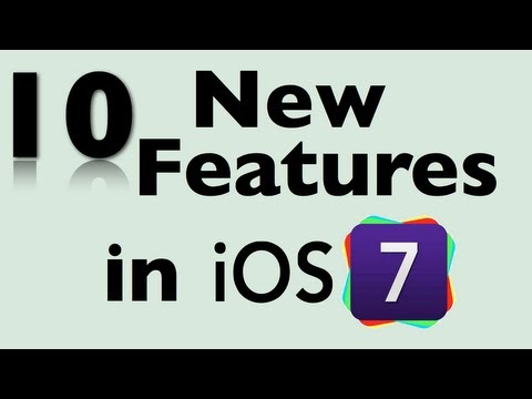 10 New Features in iOS 7 for the iPad