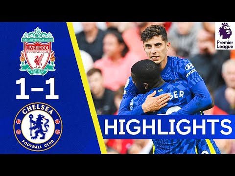 Liverpool 1-1 Chelsea |  Havertz attacks as the bright blues claim a point!  |  Reflexes