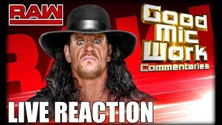 WWE RAW September 17, 2018 LIVE REACTION