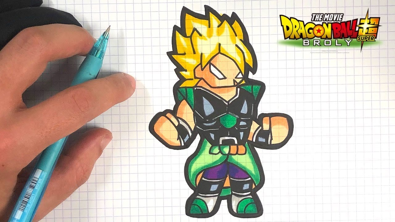 How To Draw Broly Ssj