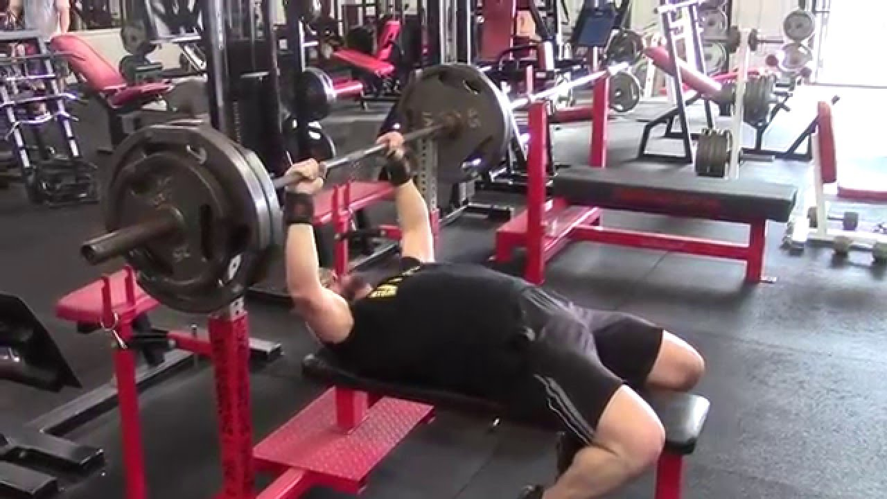Nice Jack Lalanne Bench Press Part - 14: Jason Blaha Teaches You How To Bench Press Heavy U0026 Safely Without A  Spotter!!! - YouTube