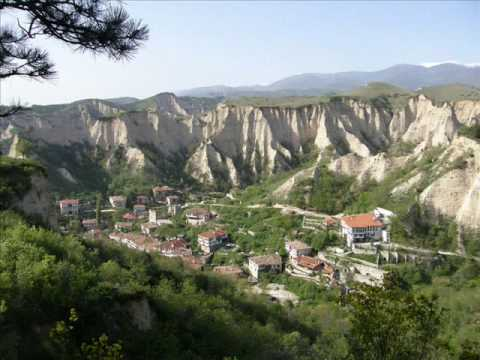 Melnik, the smallest town in Bulgaria