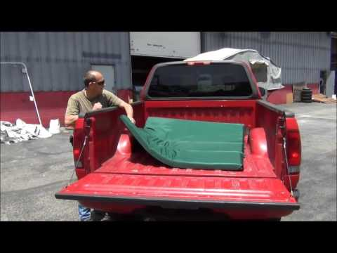Truck Bed Mattress For Camping And Offroad Youtube