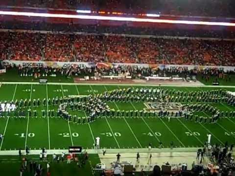Notre Dame Marching Band - Half-Time Show - 2013 BCS Championship
