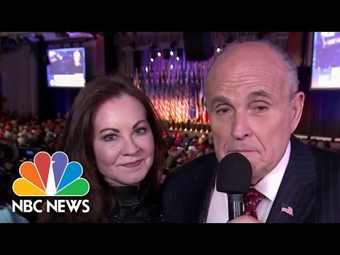 Rudy Giuliani: Race So Far 'Sure Shows The Power Of The People' | NBC News