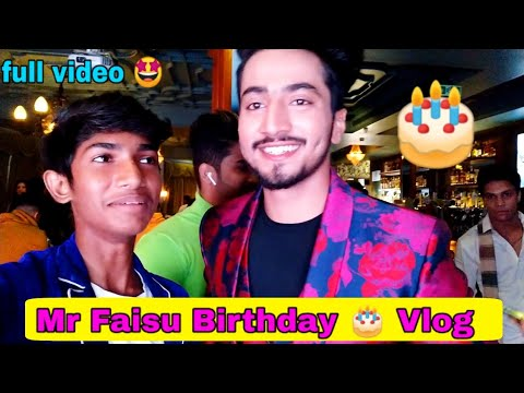 Mr Faisu Birthday Party || I Met Mr Faisu || PART 1||