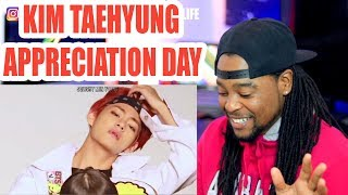 V appreciation day | a video to make you fall in love with Kim Taehyung | REACTION!!!