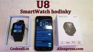 TEST U8 SmartWatch hodinky → ty nejlevnější!!│Aliexpress česky│Unboxing - rozbalovačka│TEST│