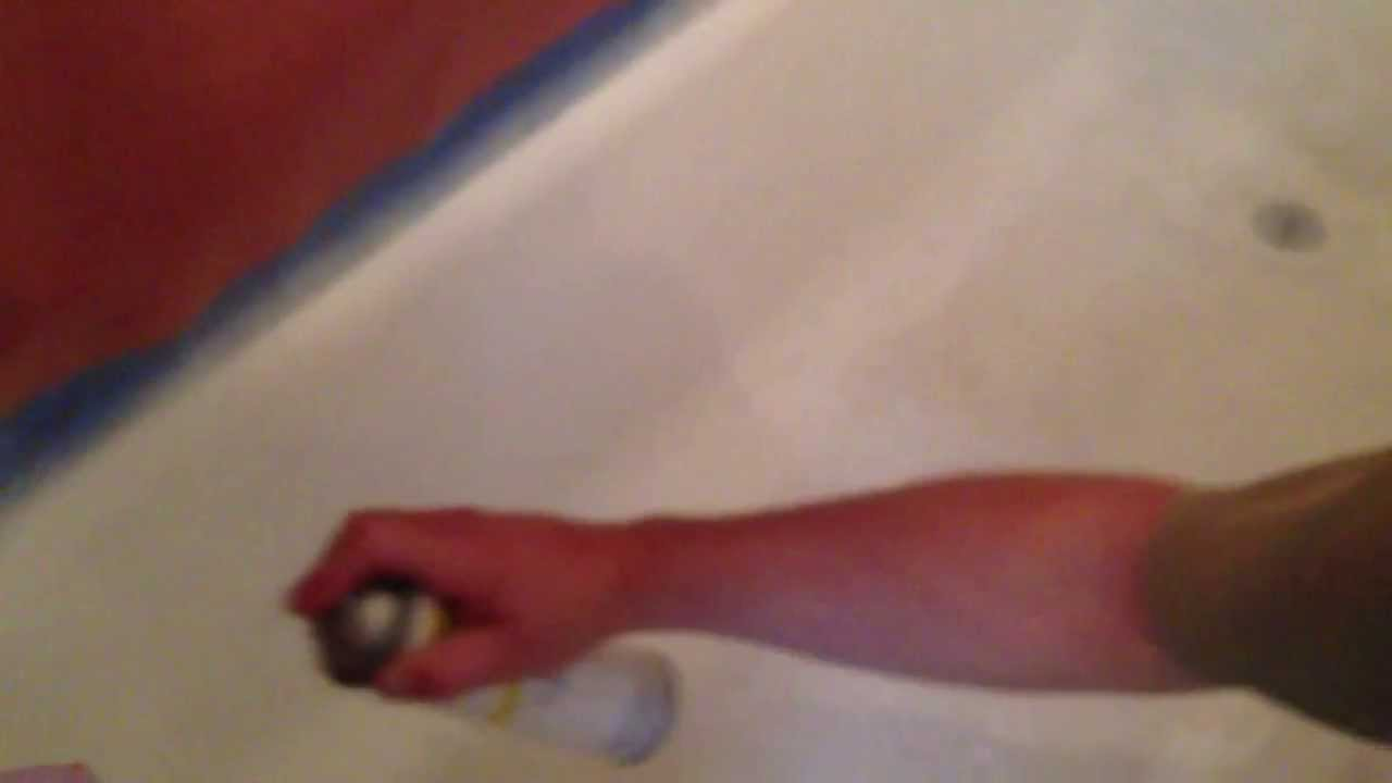 Refinishing/Reglazing a Bathtub. By How-to Bob - YouTube