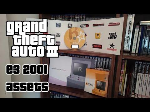 Grand Theft Auto 3 (Rockstar games) - E3 2001 Assets