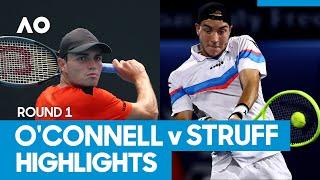 Christopher o'connell vs jan-lennard struff match highlights (1r)   australian open 2021