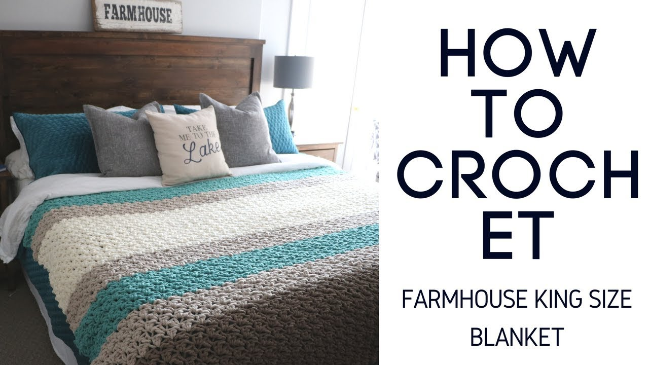 Farmhouse King Size Blanket