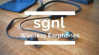Lightest Wireless Travel Earphones I ever Used! sgnl HB-N50 Review 2018