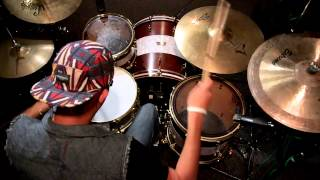 Johnathan Cristan - Memphis May Fire - No Ordinary Love Drum Cover