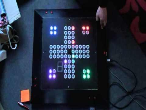 Elektro Techniker Projekt - Microcontroller Controlled LED Gameboard ...