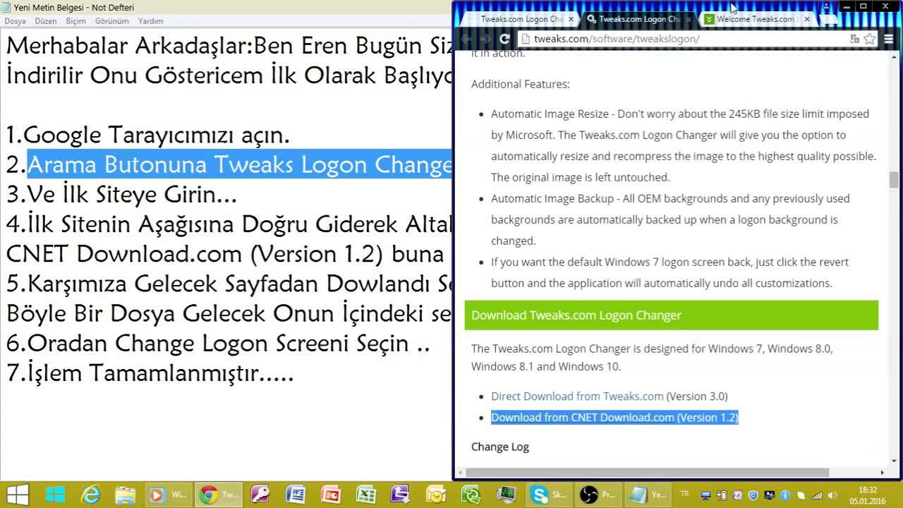 Tweakslogon hướng dẫn sử dụng tweakslogon trên windows 7_ user.
