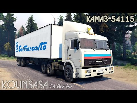 Spintires 2014 - КамАЗ-54115